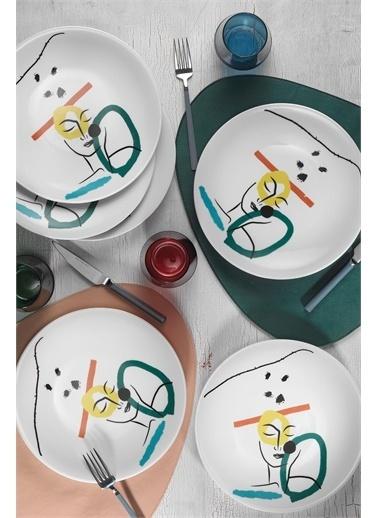 Kütahya Porselen Kütahya Porselen Zeugma 6'lı Servis Takımı 885931 Renkli